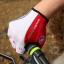 ถุงมือปั่นจักรยานยี่ห้อ castelli สีดำแดง : 163 thumbnail 3