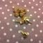 หมุดกรวย15mm ทองแพค4ตัว thumbnail 3