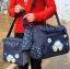 กระเป๋าคุณแม่ กระเป๋าใส่ของเด็กอ่อน สัมภาระลูกน้อย ลายรถ Set สุดคุ้ม 3 ใบ สีกรมท่า.สีฟ้า.สีชมพู thumbnail 1