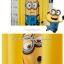 ผ้าม่าน ลายการ์ตูนมินเนี่ยน Minions สีเหลือง thumbnail 3