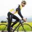 เสื้อปั่นจักรยานแขนยาว SOUKE สีเหลือง : CL3103 thumbnail 9