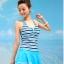 ชุดว่ายน้ำ Sporty Girl D01 Blue thumbnail 1