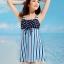 ชุดว่ายน้ำ วันพีช Fairy-Dressy Blue thumbnail 4