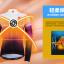 เสื้อปั่นจักรยานแขนยาวผู้หญิง SOUKE สีม่วง : CPL5107 thumbnail 3