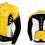 เสื้อปั่นจักรยานแขนยาว SOUKE สีเหลือง : CL3103 thumbnail 1