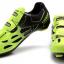 รองเท้าปั่นจักรยานเสือหมอบ TIEBAO สีดำเขียวสะท้อนแสง : TB16-B1259_1002 thumbnail 4