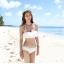 ชุดว่ายน้ำ บิกินี่ ชุดว่ายน้ํา BiKiNi-FaiRy Cuties (White) thumbnail 4