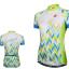 เสื้อปั่นจักรยานแขนสั้นผู้หญิง SOUKE สีเขียว : CL2002 thumbnail 1