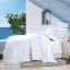 ผ้าปูที่นอน ผ้าเทนเซล tencel สีขาวล้วน thumbnail 1