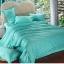 ผ้าปูที่นอน tencel สีมิ้น สีพื้น thumbnail 1