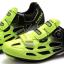 รองเท้าปั่นจักรยานเสือหมอบ TIEBAO สีดำเขียวสะท้อนแสง : TB16-B1259_1002 thumbnail 1