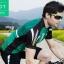 เสื้อปั่นจักรยานแขนสั้น SOUKE สีเขียว: CS3002 thumbnail 2