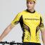 เสื้อปั่นจักรยานแขนสั้น SOUKE สีเหลือง: CPS3110 thumbnail 2