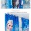 ผ้าม่าน ลายเจ้าหญิงน้ำแข็ง Frozen สีฟ้า thumbnail 5
