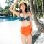 ชุดว่ายน้ำ บิกินี่ ชุดว่ายน้ํา เอวสูง Funny Girl thumbnail 3