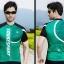 เสื้อปั่นจักรยานแขนสั้น SOUKE สีเขียว: CS3002 thumbnail 3