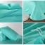 ผ้าปูที่นอน tencel สีมิ้น สีพื้น thumbnail 2