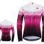 เสื้อปั่นจักรยานแขนยาวผู้หญิง SOUKE สีม่วง : CPL5107 thumbnail 1