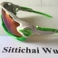 แว่นตา OAKLEY JAWBREAKER สีขาวเขียว เลนส์เข้ม thumbnail 3