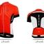 เสื้อปั่นจักรยานแขนสั้น SOUKE สีแดง : D3103 thumbnail 1