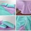 ผ้าปูที่นอน tencel สีฟ้า-ม่วง สีพื้น thumbnail 2