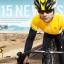 เสื้อปั่นจักรยานแขนยาว SOUKE สีเหลือง : CL3103 thumbnail 2