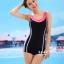 ชุดว่ายน้ำ Sporty Girl B01 Pink thumbnail 2
