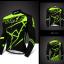 เสื้อปั่นจักรยานแขนยาว SOUKE สีดำเขียว: CL6501 thumbnail 1