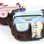 กระเป๋าใส่ของใช้เด็ก สะพายใบเล็ก แบรนด์ carter's ปักลายดอกไม้/หัวใจ มี 2 สี ฟ้า ชมพู thumbnail 4