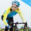 เสื้อปั่นจักรยานแขนยาวผู้หญิง SOUKE สีฟ้าเขียว : CL21011 thumbnail 3