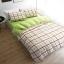 ผ้าปูที่นอน ลายตาราง สก๊อต พื้นสีเขียว thumbnail 1