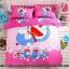 ผ้าปูที่นอน ลายการ์ตูนโดเรม่อน + คิตตี้ Bedding Set thumbnail 2