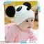 หมวกใหมพรม จุกข้าง(หมีแพนด้า) thumbnail 1