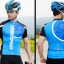 เสื้อปั่นจักรยานแขนสั้น SOUKE สีน้ำเงิน : CS3000 thumbnail 3