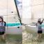 ชุดว่ายน้ำ แขนยาว ขาสั้น ขาว-ดำ ลายขวาง thumbnail 6