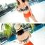 ชุดว่ายน้ำ บิกินี่ ชุดว่ายน้ํา เอวสูง Funny Girl thumbnail 4