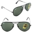 Ray-Ban RB3025JM 002 58mm Black Frame G-15