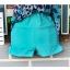 ชุดว่ายน้ําคนอ้วน แบบวันพีช ทรงเดรส ลายกราฟฟิค สีฟ้า thumbnail 6