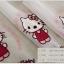 ผ้าม่าน ลายคิตตี้ Kitty งานปัก สีชมพูหวานๆ thumbnail 6
