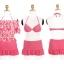 ชุดว่ายน้ำ บิกินี่เซ็ท 3 ชิ้น เสื้อลายดอก Watermelon ชุดว่ายน้ำแบบเป็นเซ็ท thumbnail 4
