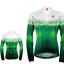 เสื้อปั่นจักรยานแขนยาวผู้หญิง SOUKE สีเขียว : CPL5106 thumbnail 1