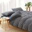 ผ้าปูที่นอน สีพื้นลายทาง เนื้อผ้าถักนิตติ้ง KnittedCotton thumbnail 1