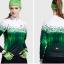 เสื้อปั่นจักรยานแขนยาวผู้หญิง SOUKE สีเขียว : CPL5106 thumbnail 4