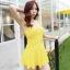 ชุดว่ายน้ำ วันพีช So Sweet (Yellow) แบบกระโปรง thumbnail 2