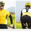 เสื้อปั่นจักรยานแขนยาว SOUKE สีเหลือง : CL3103 thumbnail 10
