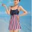 ชุดว่ายน้ำ วันพีช Fairy-Dressy Red thumbnail 3