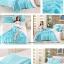 ผ้าปูที่นอน ผ้าซาติน satin 100% สีพื้น thumbnail 4