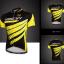 เสื้อปั่นจักรยานแขนสั้น SOUKE สีดำเหลือง: CS6602 thumbnail 1