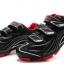 รองเท้าปั่นจักรยานเสือภูเขา TIEBAO สีดำแดง : TB15-B1235_0206 thumbnail 1