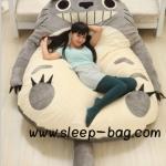 ที่นอนตุ๊กตายักษ์ โตโตโร่ Totoro ขนาดกลาง (มีหาง)